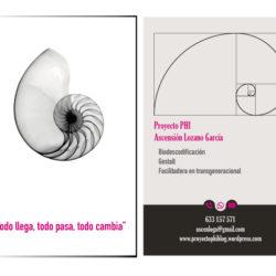 psicología tarjeta de visita diseño gráfico logo